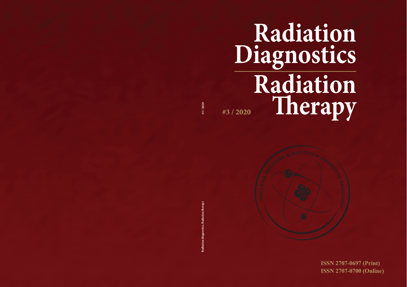"""Radiation Diagnostics, Radiation Therapy"" volume 3, 2020 cover"